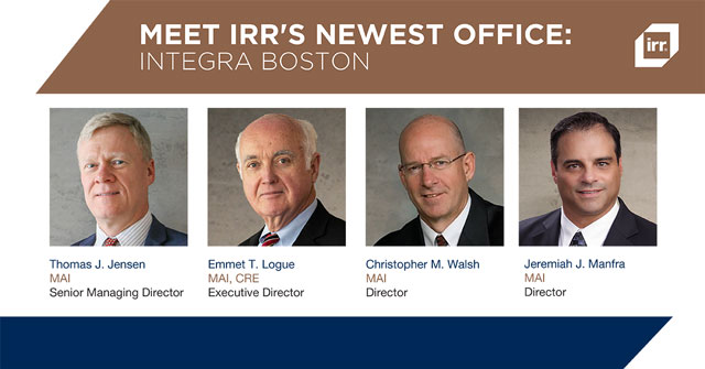 Meet IRR's Newest Office: Integra Boston