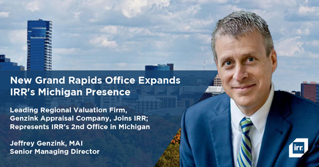 IRR Opens new office in Grand Rapids, MI