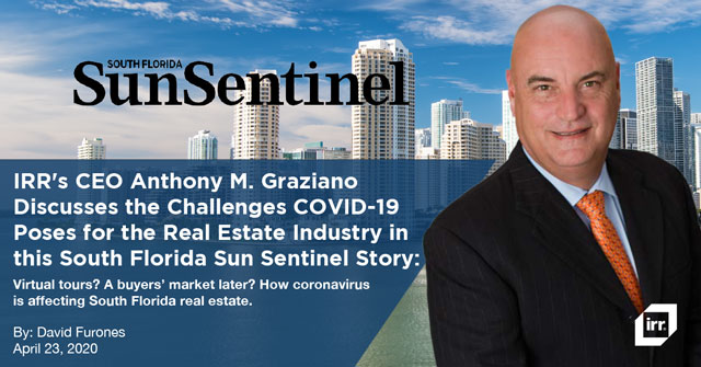Virtual tours? A buyers' market later? How coronavirus is affecting South Florida real estate.