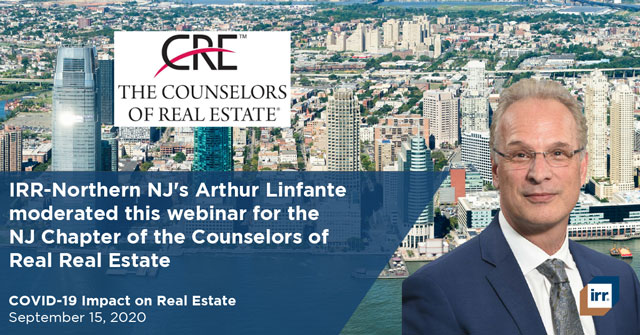 Art Linfante Moderates NJ Chapter of CRE Webinar