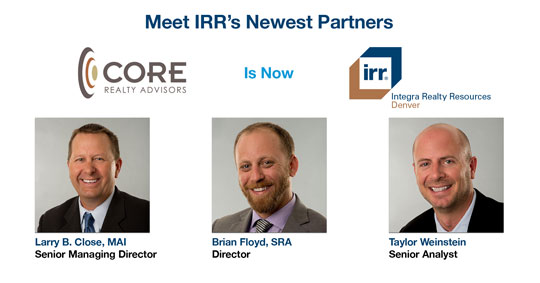IRR Reopens Denver, CO Office