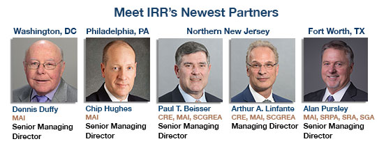 Meet IRR's Newest Partners