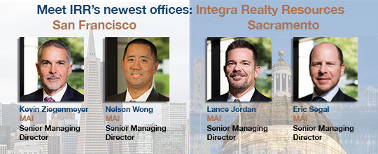 IRR-Sacramento and San Francisco's Management Team