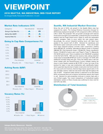 2016 Mid-Year Viewpoint Seattle Industrial Report