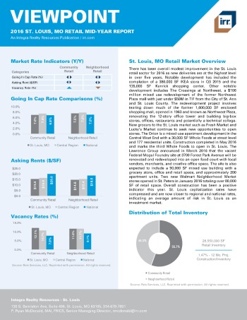 2016 Mid-Year Viewpoint Saint Louis Retail Report