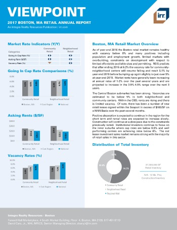 2017 Viewpoint Boston Retail Report