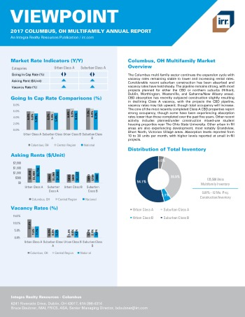 2017 Viewpoint Columbus Multifamily Report