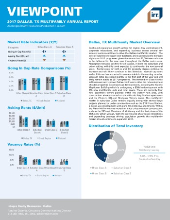 2017 Viewpoint Dallas Multifamily Report