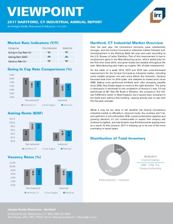 2017 Viewpoint Hartford Industrial Report