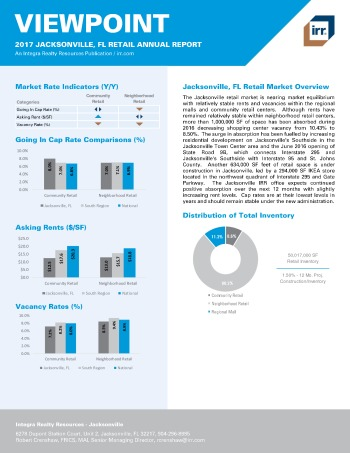 2017 Viewpoint Jacksonville Retail Report