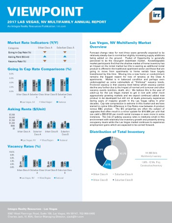 2017 Viewpoint Las Vegas Multifamily Report