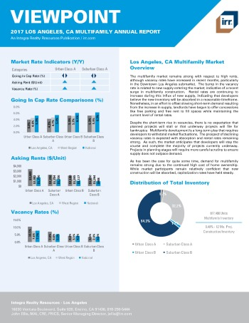 2017 Viewpoint Los Angeles Multifamily Report