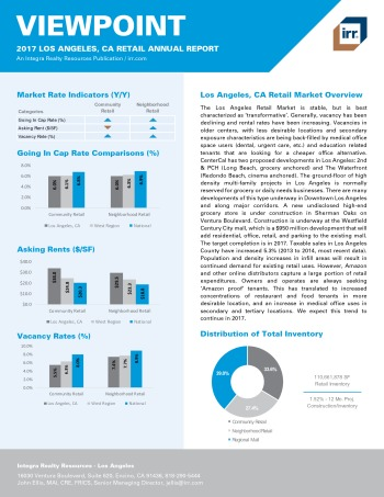 2017 Viewpoint Los Angeles Retail Report