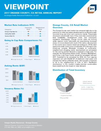 2017 Viewpoint Orange County Retail Report