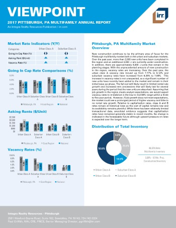 2017 Viewpoint Pittsburgh Multifamily Report