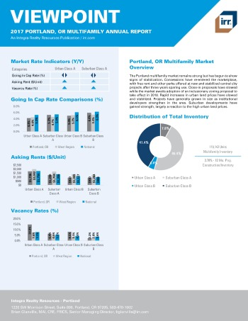 2017 Viewpoint Portland Multifamily Report
