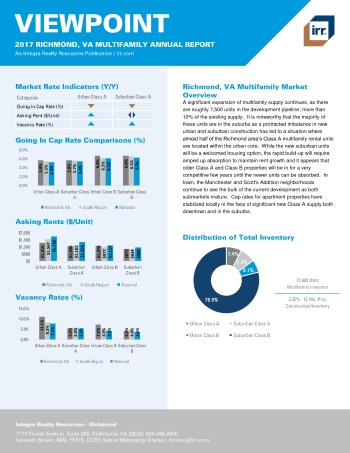 2017 Viewpoint Richmond Multifamily Report