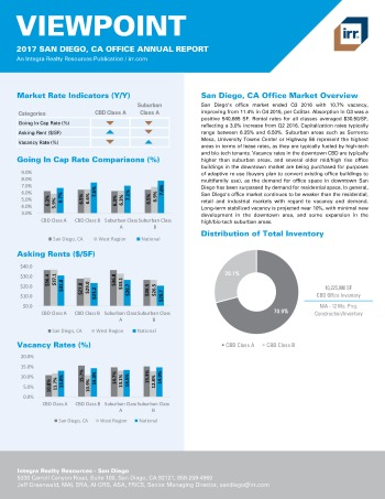 2017 Viewpoint San Diego Office Report