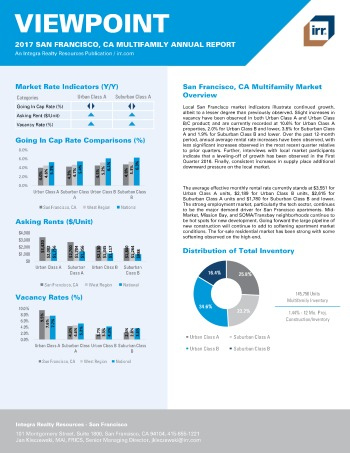2017 Viewpoint San Francisco Multifamily Report