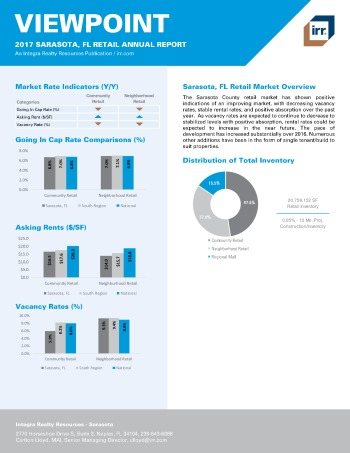 2017 Viewpoint Sarasota Retail Report
