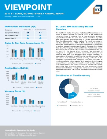 2017 Viewpoint Saint Louis Multifamily Report