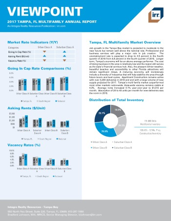 2017 Viewpoint Tampa Multifamily Report