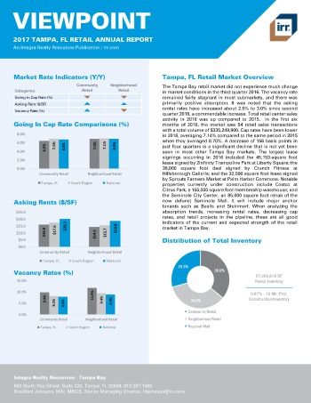 2017 Viewpoint Tampa Retail Report