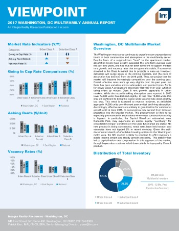 2017 Viewpoint Washington Multifamily Report