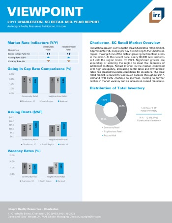 2017 Mid-Year Viewpoint Charleston Retail Report