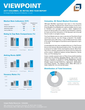 2017 Mid-Year Viewpoint Columbia Retail Report