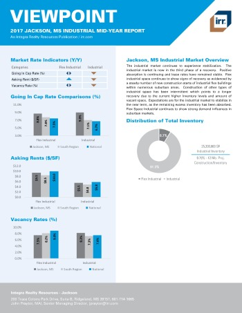 2017 Mid-Year Viewpoint Jackson Industrial Report