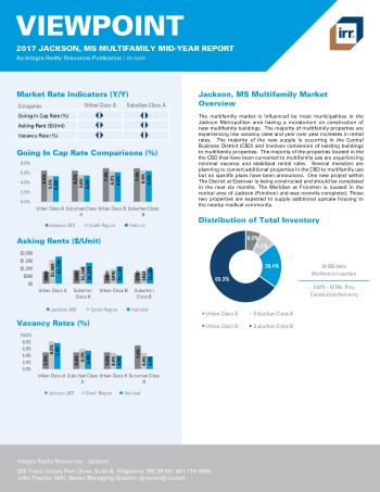 2017 Mid-Year Viewpoint Jackson Multifamily Report