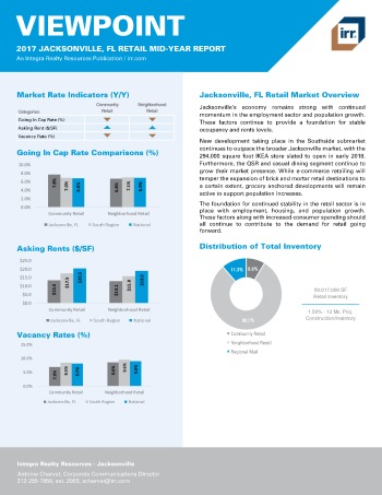 2017 Mid-Year Viewpoint Jacksonville Retail Report