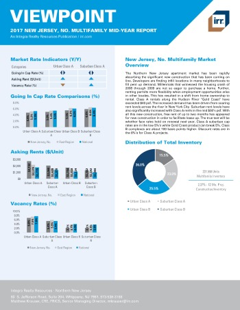 2017 Mid-Year Viewpoint New Jersey Northern Multifamily Report
