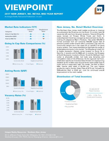 2017 Mid-Year Viewpoint New Jersey Northern Retail Report