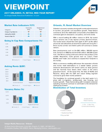 2017 Mid-Year Viewpoint Orlando Retail Report