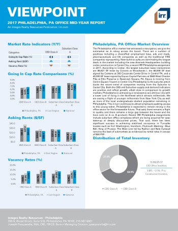 2017 Mid-Year Viewpoint Philadelphia Office Report