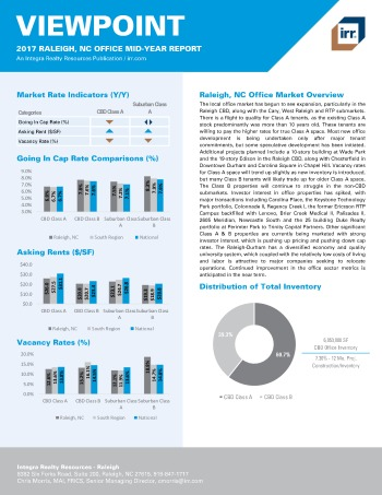 2017 Mid-Year Viewpoint Raleigh Office Report