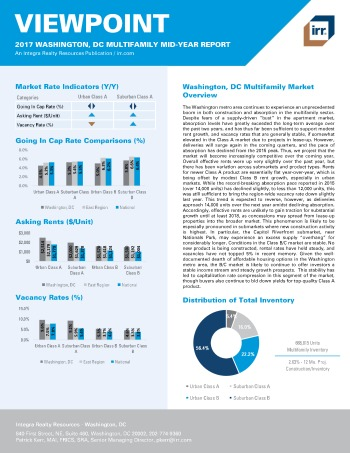 2017 Mid-Year Viewpoint Washington Multifamily Report
