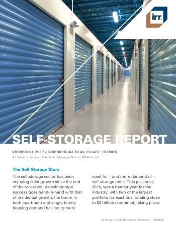 2017 Viewpoint National Self-Storage Report