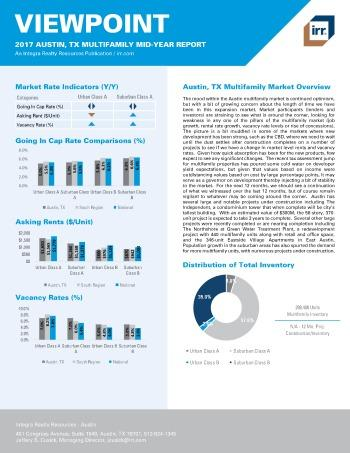 2017 Mid-Year Viewpoint Austin Multifamily Report