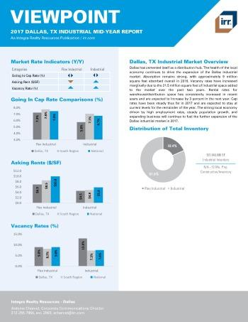 2017 Mid-Year Viewpoint Dallas Industrial Report