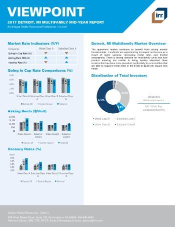 2017 Mid-Year Viewpoint Detroit Multifamily Report
