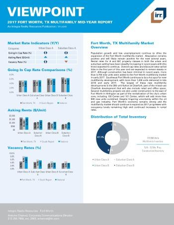 2017 Mid-Year Viewpoint Fort Worth Multifamily Report