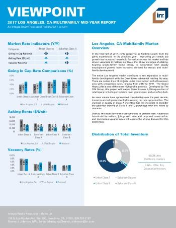 2017 Mid-Year Viewpoint LA Metro Multifamily Report
