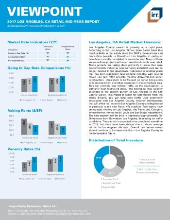 2017 Mid-Year Viewpoint LA Metro Retail Report