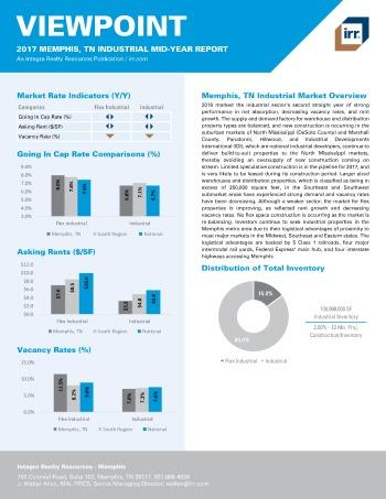 2017 Mid-Year Viewpoint Memphis Industrial Report