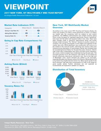 2017 Mid-Year Viewpoint New York Multifamily Report