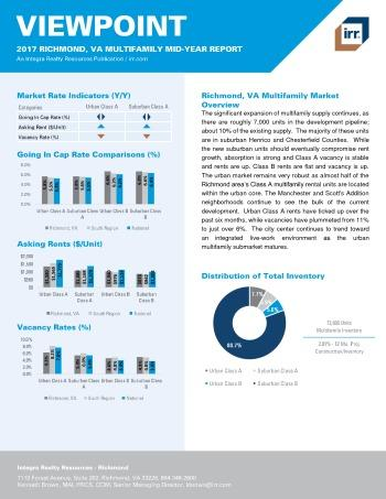 2017 Mid-Year Viewpoint Richmond Multifamily Report