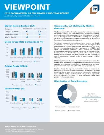 2017 Mid-Year Viewpoint Sacramento Multifamily Report